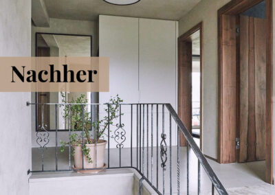 babette | wohnraumgestaltung - eingangsbereich nachher