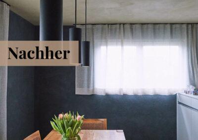 babette | wohnraumgestaltung - küche nachher