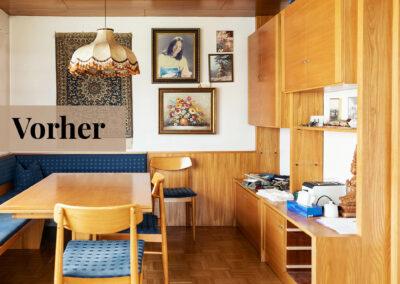 babette | wohnraumgestaltung - küche vorher